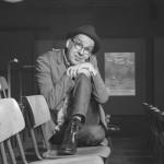 Intendant, Schauspieler und Regisseur Christian Berg im Hamburger Sprechwerk