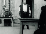 Götz Von Berlichingen 1962 - Ernst Bauer (Laienspieler) als Schreiber und Alexander Golling als Götz