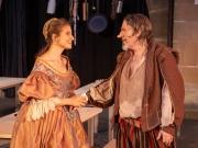 Nadja Wünsche (als Roxane) und Franz-Joseph Dieken (als Cyrano)