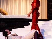 Ann-Cathrin Sudhoff (als Adelheid von Walldorf) und Christopher Krieg (als Weislingen)