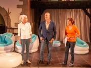 Ulrike Barthruff (als Marga Laible), Simon Licht (als Manfred Frisch) und Monika Hirschle (als Uschi Stammer)