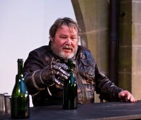 """Walter Plathe als """"Götz""""© Burgfestspiele Jagsthausen/Lutz Schelhorn"""